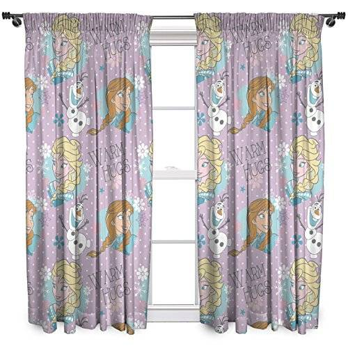 Disney Character World – Cortinas de cristal de Frozen de Disney