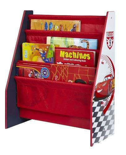 Disney Cars 470CAP - Estantería infantil, color rojo