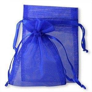 joydiy 100 Royal Blue Organza Wedding Favour Bags Jewellery Pouches 9cm x 12cm without free gifts by joydiy