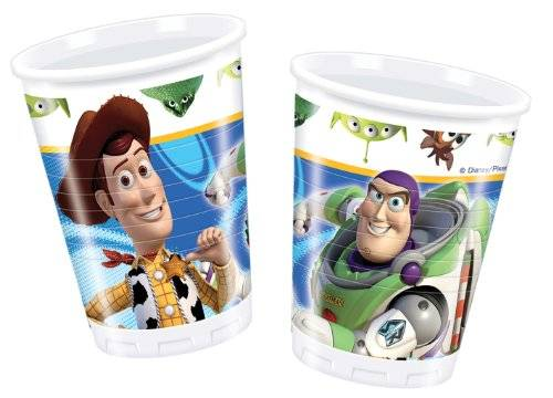Amscan - Toy Story 3 Kunststoffbecher (Packung mit 10)