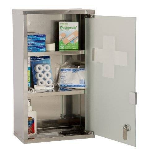 Excellent Care Wall Mountable Medicine Cabinet (Large) by Excellent Care