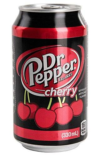 Dr. Pepper Dr Pepper Cherry 33cl (pack de 24) soda