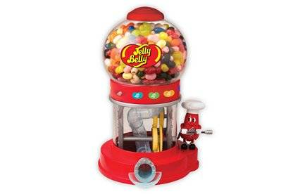 Jelly Belly Mr Jelly Belly Bean Machine Dispenser & Assorted Jelly Beans Bags 28g