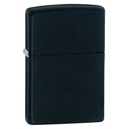 Zippo 1029218 Black Matte - Mechero, color negro mate