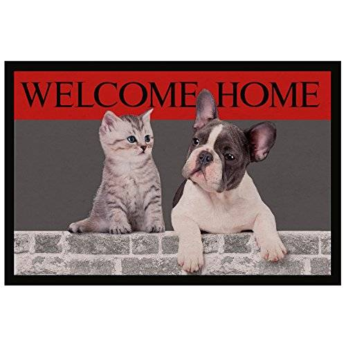 Tapis Déco  - 1740310, Tapete De Entrada Rectangulo , 40 X 60 Cm , Welcome Home , Photoprint