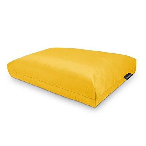 HAPPERS Cojines para palets 120x80x20cm Naylim Impermeable Amarillo Happers