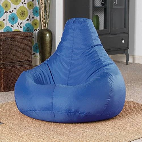 Bean Bag Bazaar® - Puf reclinable para interiores o exteriores, impermeable
