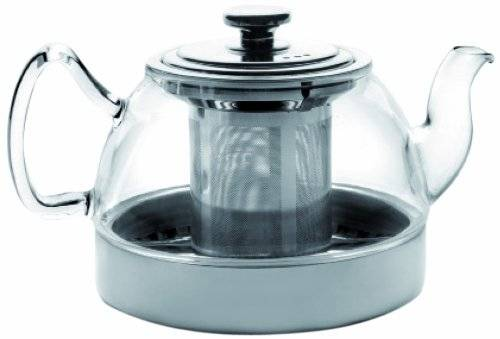 Ibili 621908 - Tetera cristal con filtro Induction 800 ml