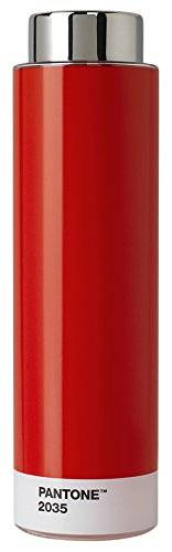 Pantone Botella Tritan, 500 ml, Red 2035, 6.2 x 6.2 x 22 cm