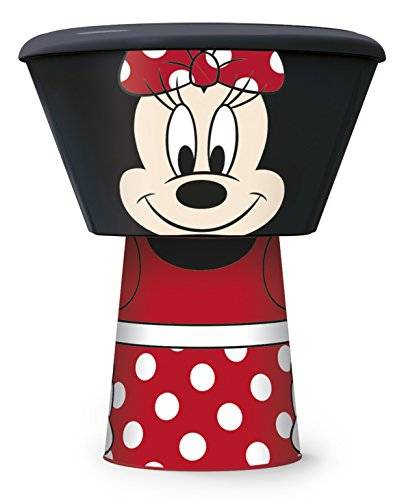 Disney Minnie Mouse Stacking Meal Set, Red, Set of 3