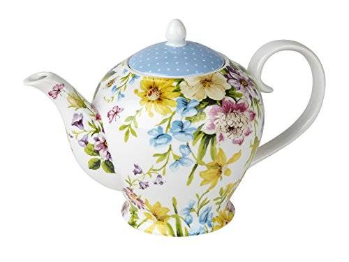 Creative KATIE ALICE English Garden SHABBY CHIC 6 Cup Porcelain TEAPOT