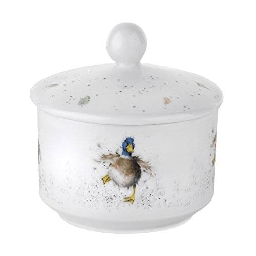 Wrendale by Royal Worcester Azucarero Wrendale por Royal Worcester
