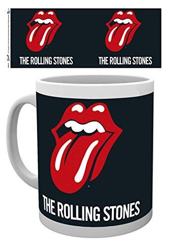 GB Eye LTD, The Rolling Stones, Logo, Taza