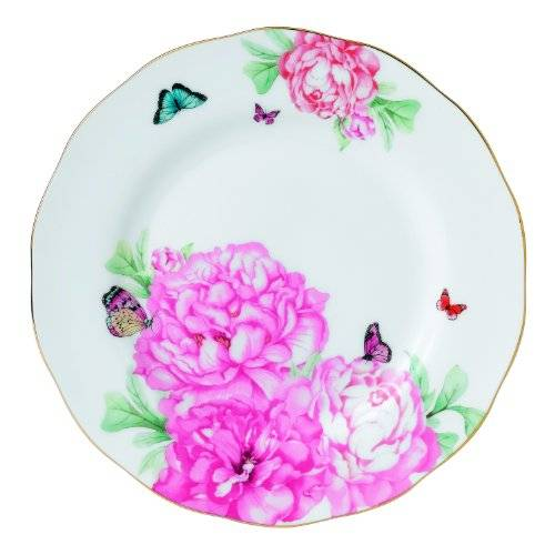 Royal Albert Placa amistad, Blanco, 20 cm