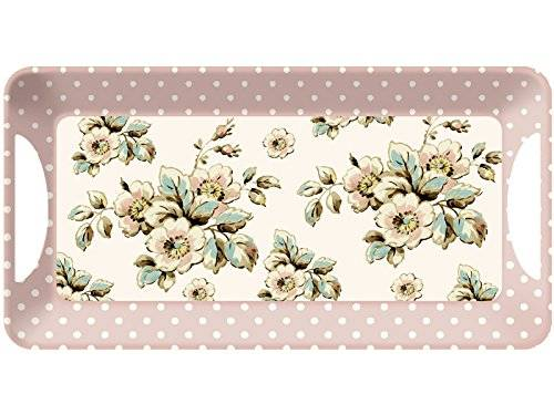 Creative KATIE ALICE Cottage Flower SHABBY CHIC Small Serving Tray