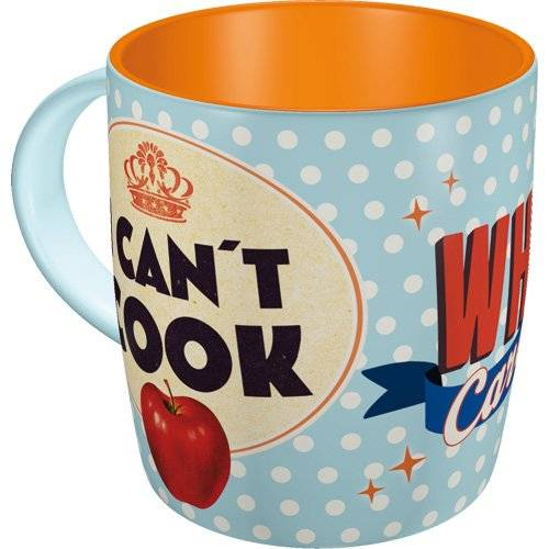 ART Nostalgic-Art 43003 Say it 1524 cm ¿s no puedes Cook, Who Cares?, taza