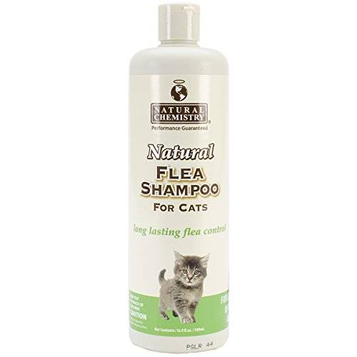 Natural Chemistry Natural Flea Shampoo For Cats 16.9Oz-