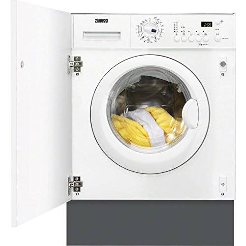 Zanussi ZWI71201WA Integrado Carga frontal 7kg 1200RPM A++ Gris, Color blanco - Lavadora (Integrado, Carga frontal, A++, A, B, Gris, Color blanco)