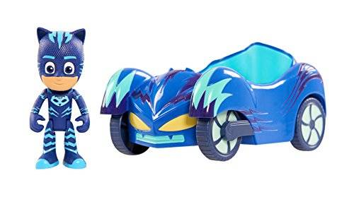 Frog Studio Home PJ Masks Vehicle & Figure - Cat Boy Cat Car