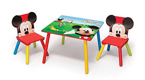 Delta Enterprises Disney - Mickey - Mesa + 2 Sillas