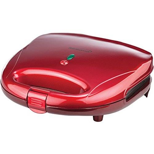 Brentwood Appliances Brentwood aparatos ts-240r Sandwich Maker, Rojo