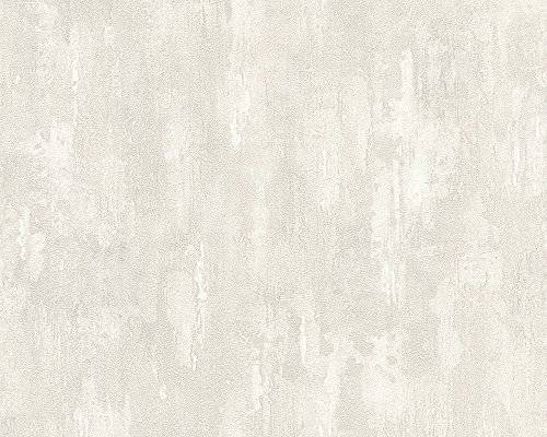 A.S. Création papel pintado Around The World gris blanco 10,05 m x 0,53 m 306941