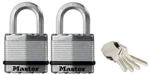Master Lock M1EURT - Lote de 2 candados Excell (45 mm)