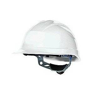 Venitex Quartz III - Casco de seguridad (cinta ajustable en 3 posiciones), color blanco