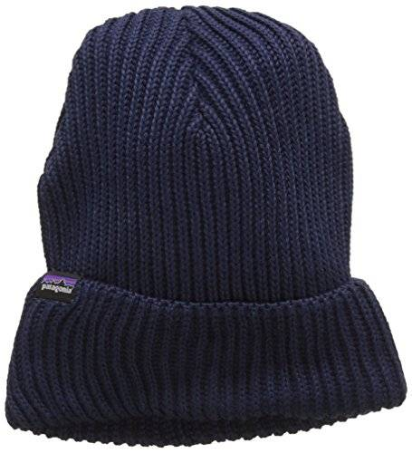 Patagonia 29105NVYBALL - Fishermans rolled beanie   color: navy blue   talla: all