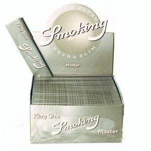 SMOKING PAPEL SMOKING KING SIZE MASTER 1 ESTUCHE (CONTIENE 50 LIBRITOS)