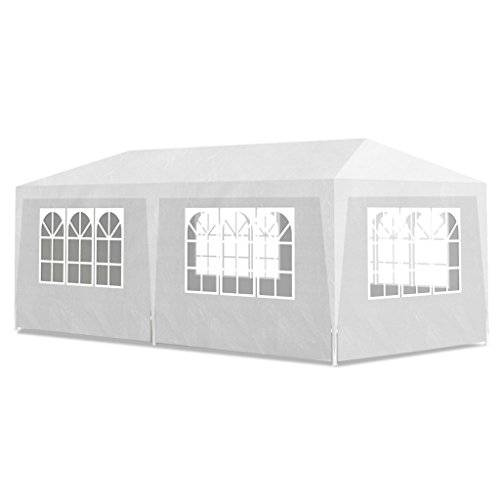 vidaXL Carpa Para Fiesta 3X6 6 Pared Blanco