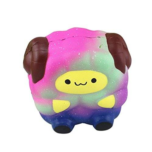Fossen Galaxy Oveja Squishy Kawaii Grandes Animales Squishy Slow Rising Squeeze Juguete (01)