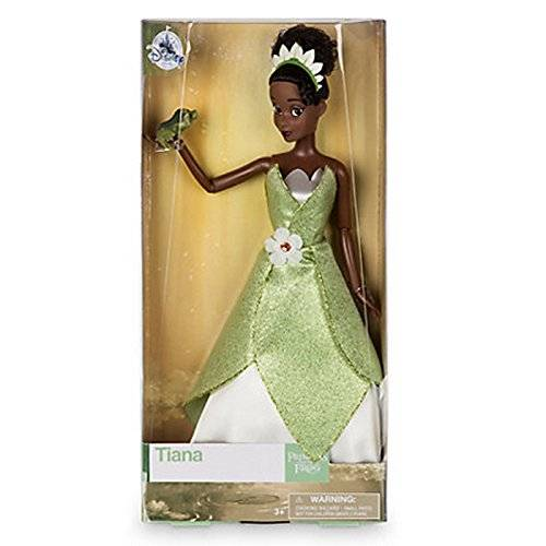 Disney Official Disney Princess & The Frog 33cm Tiana Classic Doll With Naveen Frog …