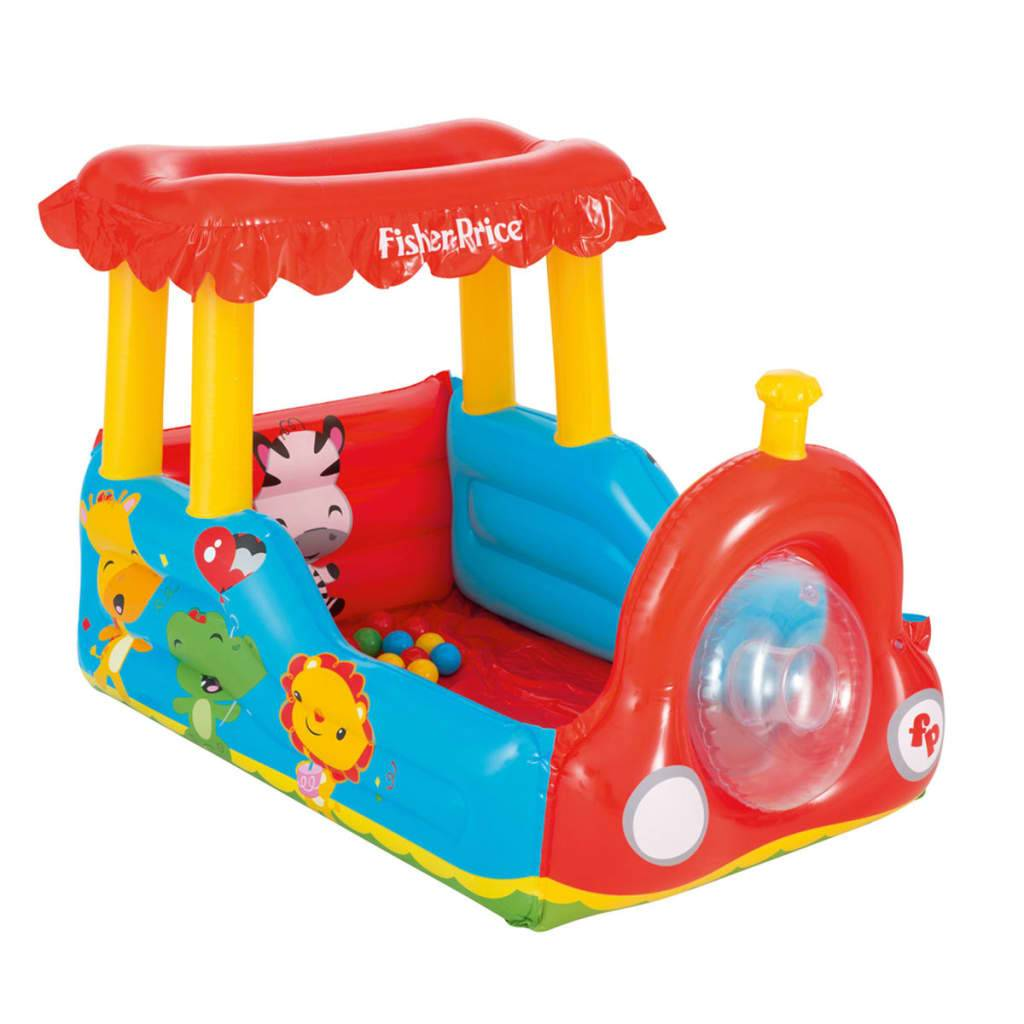 Bestway Piscina de bolas tren Fisher Price 132x94x89 cm 93503
