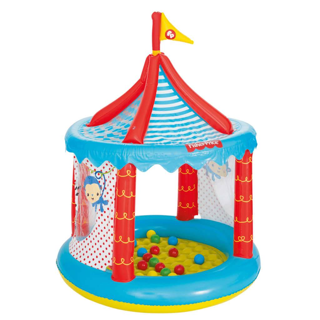 Bestway Piscina de bolas circo Fisher Price 104x137 cm 93505