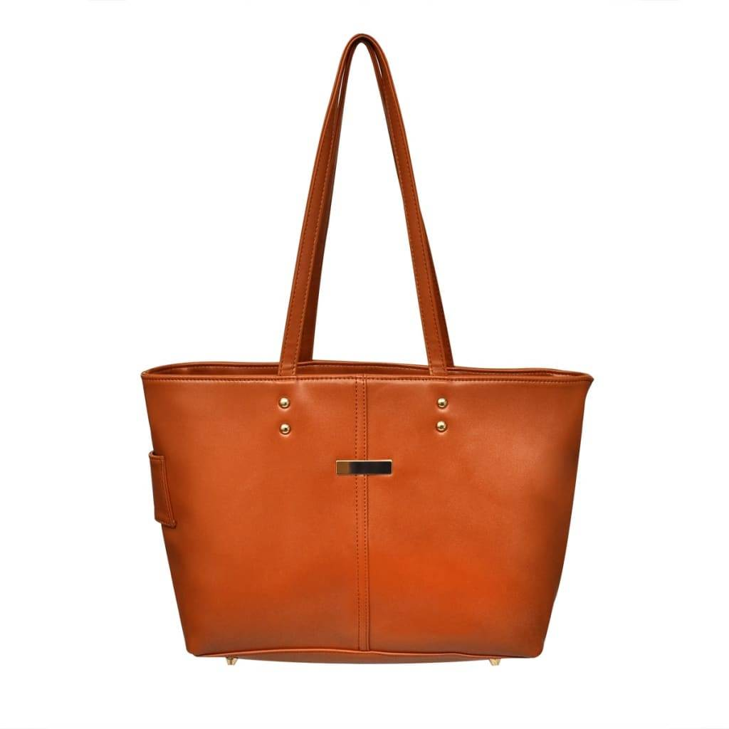 vidaXL Bolso color camel
