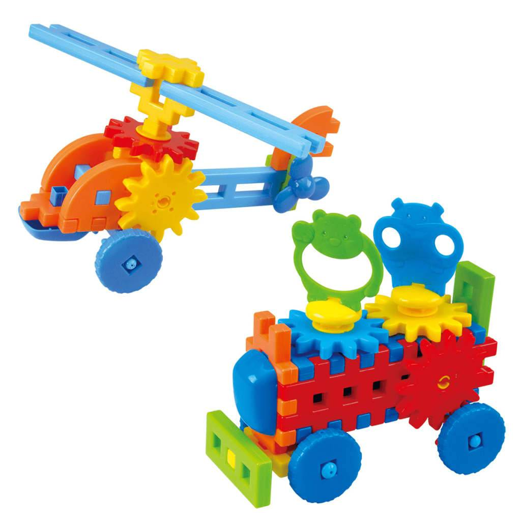 Playgo Set de construcción helicóptero/camión Little Engineer 2022