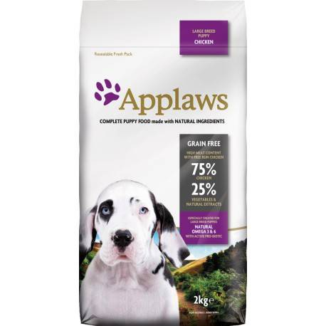 Applaws Puppy Large Breed Chicken - Saco de 7,5 Kg