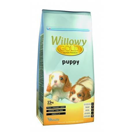 WILLOWY Gold Puppy - Pack 2 x 15 Kg