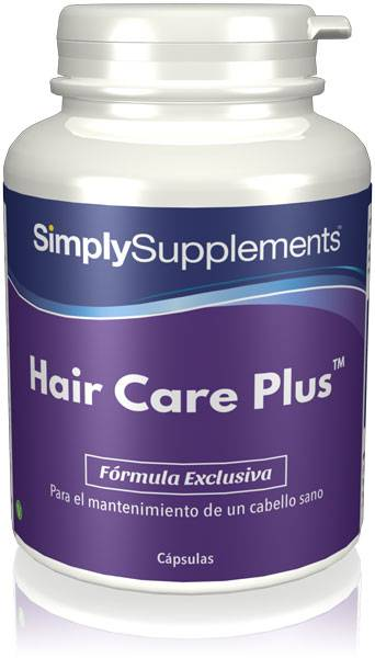 Simply Supplements Hair Care Plus - 120 Cápsulas