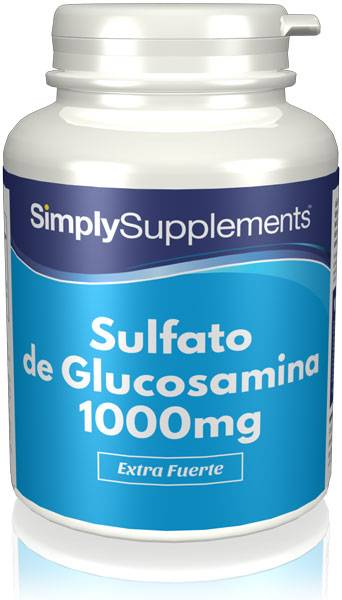 Simply Supplements Sulfato-glucosamina-1000mg - 360 Comprimidos