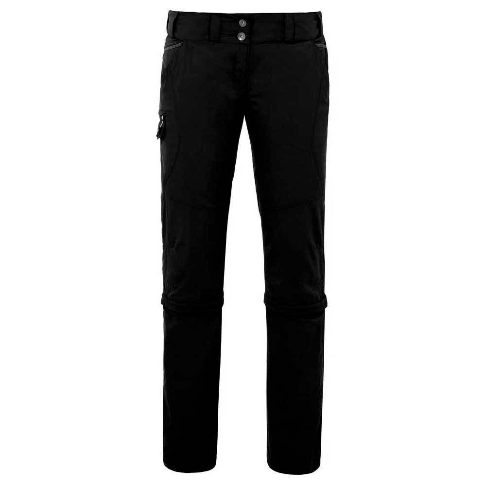 Vaude Skomer Capri Zo Pants Long  Black