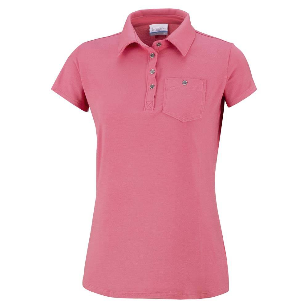 Columbia Spring Drifter Polo  Sunset Red