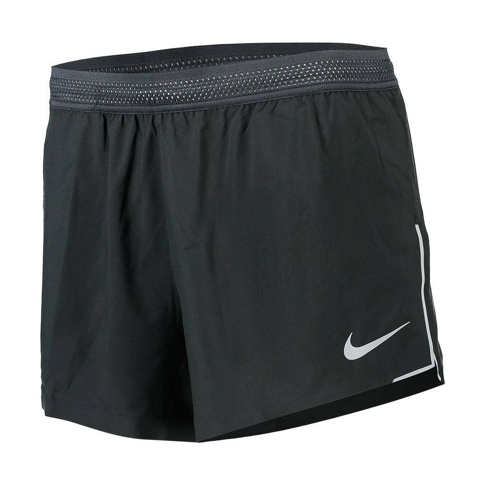 Nike Aero Swift Short 4in  Black / Wolf Grey / Wolf Grey