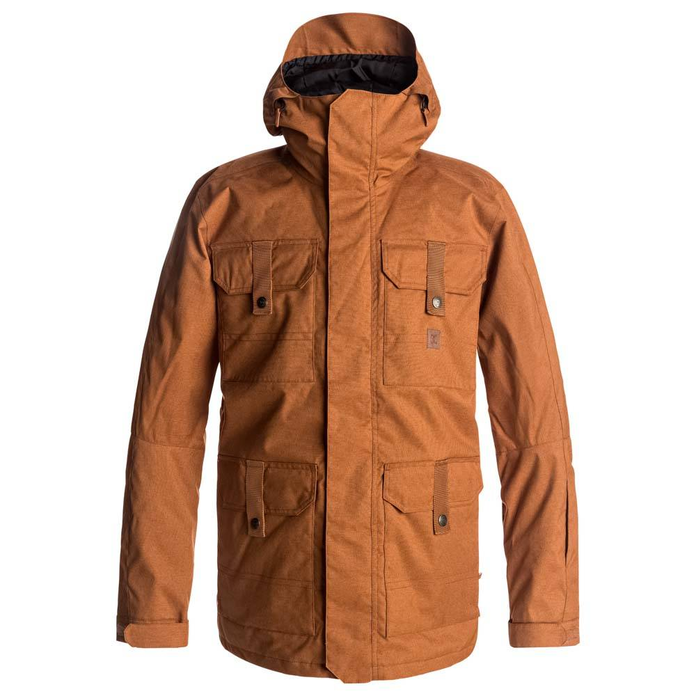 DC Shoes Servo  Leather Brown