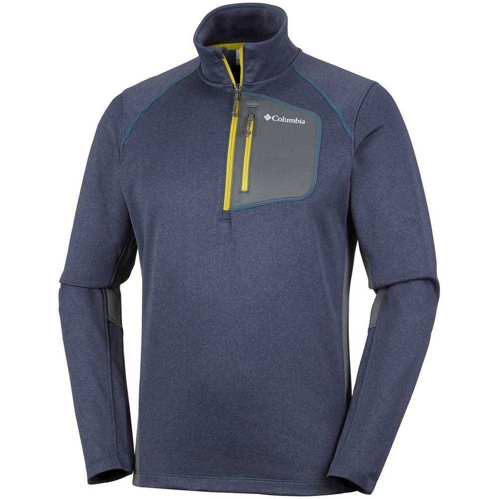 Columbia Jackson Creek Ii Half Zip  Phoenix Blue Heather / Graphite