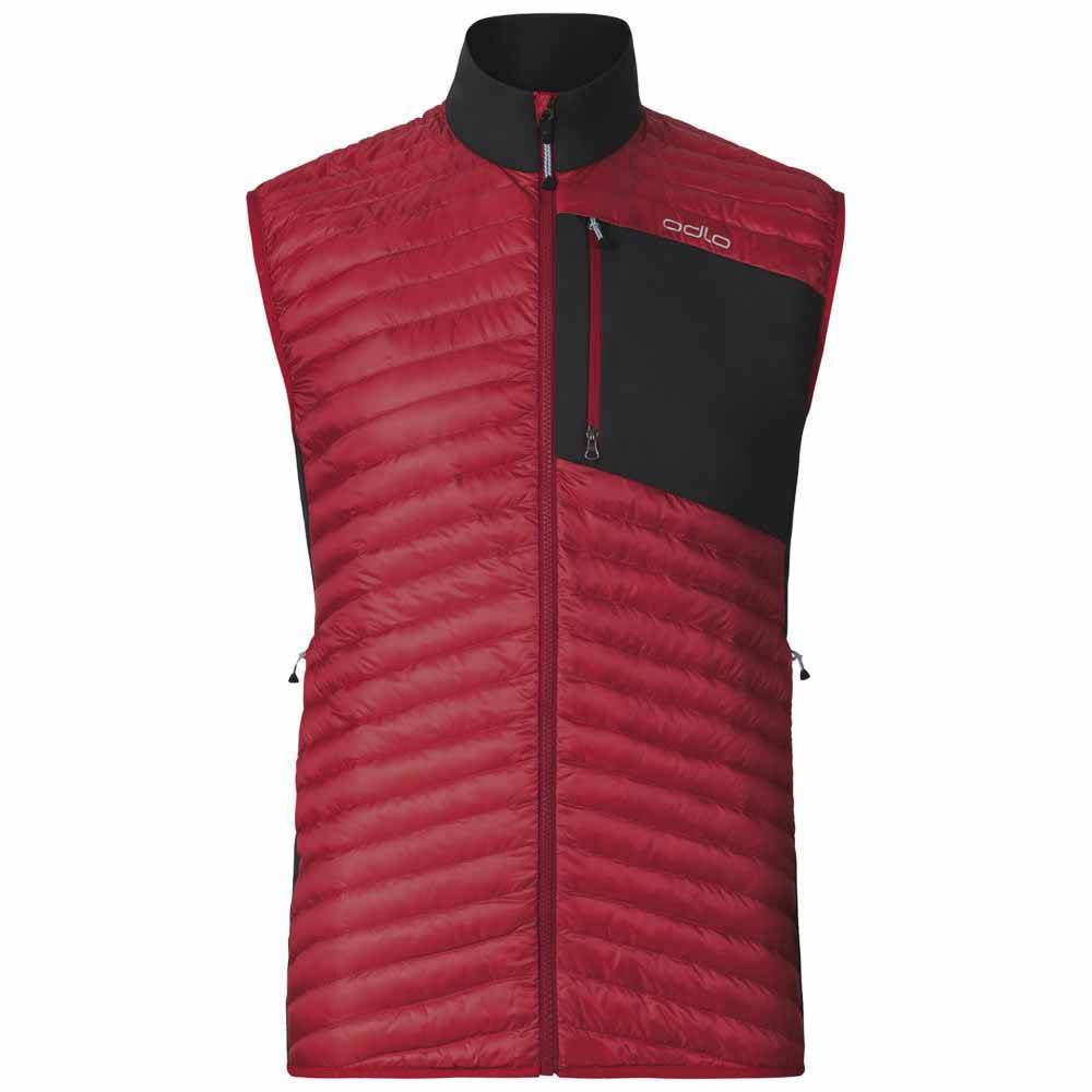 odlo Helium Cocoon Vest  Chinese Red / odlo Graphite Grey