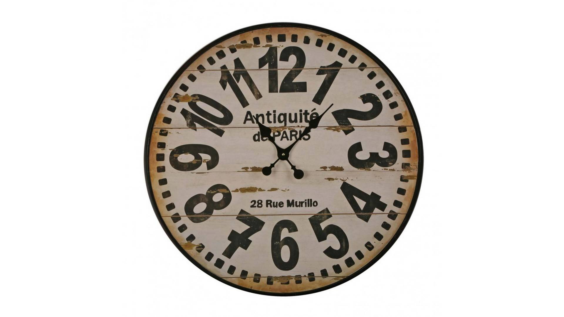 MobilierMoss Colorado- Reloj de metal 80 cm