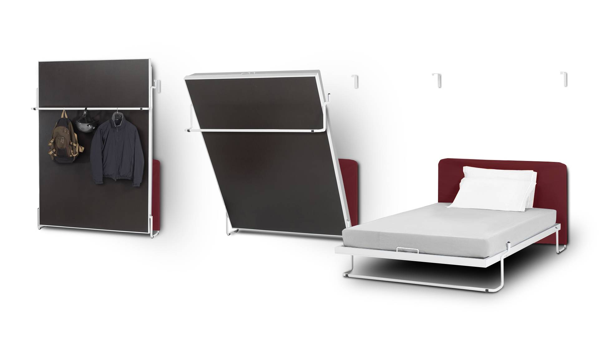 MobilierMoss Vertical bed - Cama plegable vertical