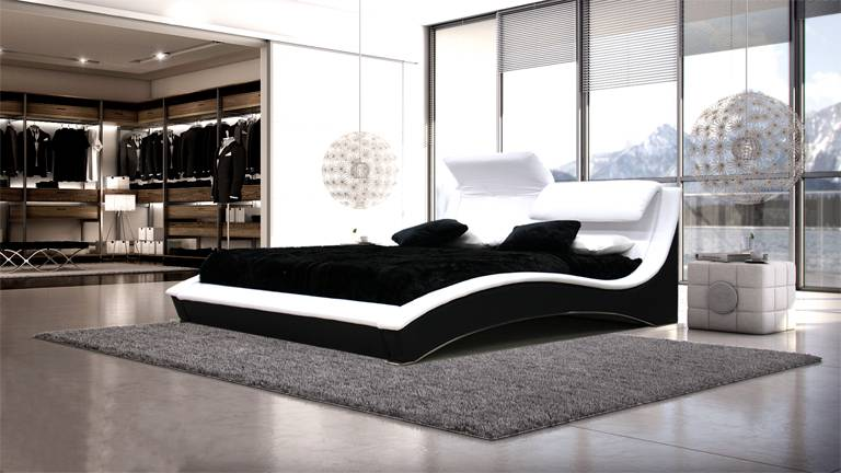 MobilierMoss Cama de piel Ideal
